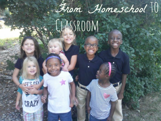 fromhomeschooltoclassroom